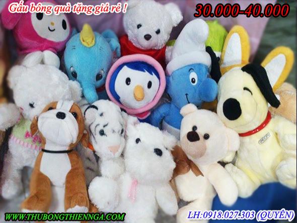 Gấu bông công ty tặng quà 20.000-40.000