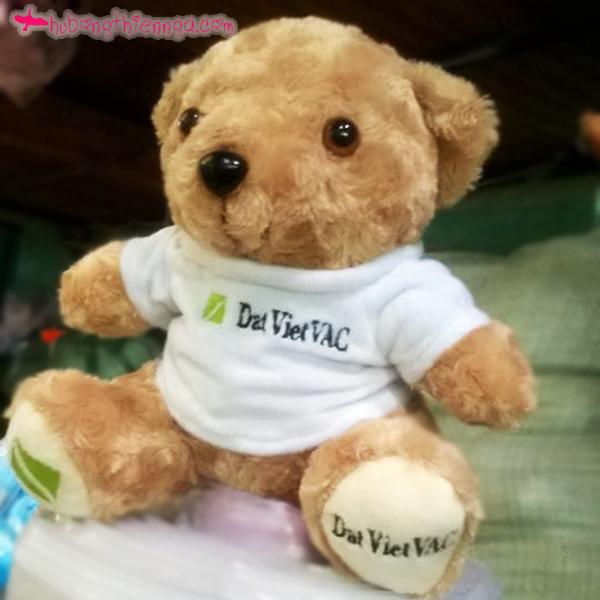 Gấu bông teddy áo thương hiệu