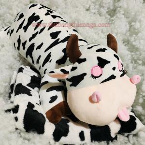 Gối mền bò sữa gấu bông