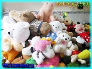 Gấu bông thanh lý bán theo Kg tại Tp.hcm