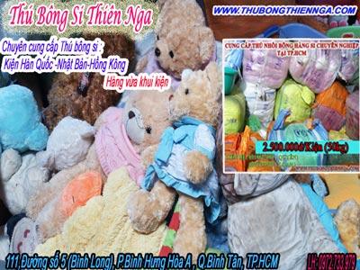 Chuyên bán gấu bông giá rẻ chuyền hàng Bình Dương - Biên Hòa