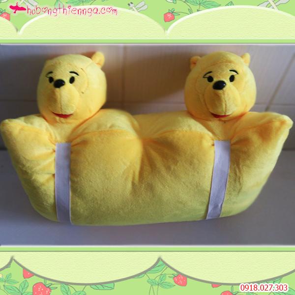 Gối treo xe hình Pooh